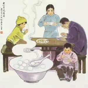 冬至吃汤圆的寓意|冬至你们是吃汤圆还是吃饺子?