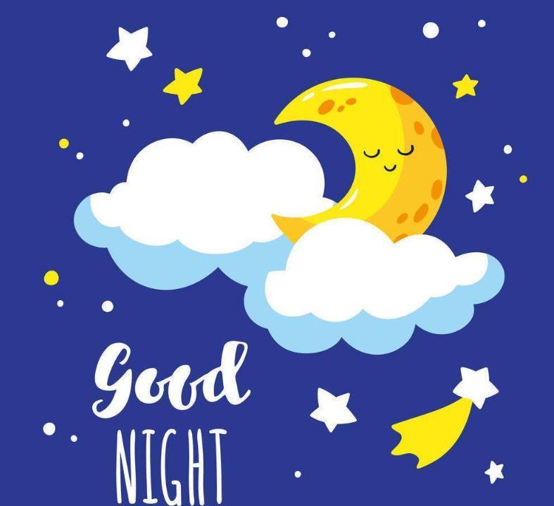 发朋友圈的简短晚安句子:变得优秀才能给别人最好的