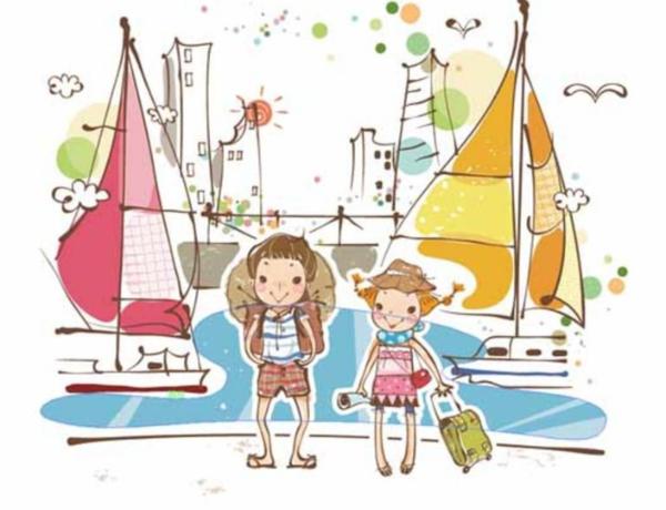 暑假旅游作文: 暑假连城之旅