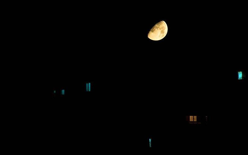 10.5祝你晚安正能量语录:尽量好好活着,晚安!