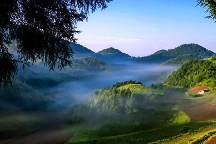 关于山中清晨的优美散文