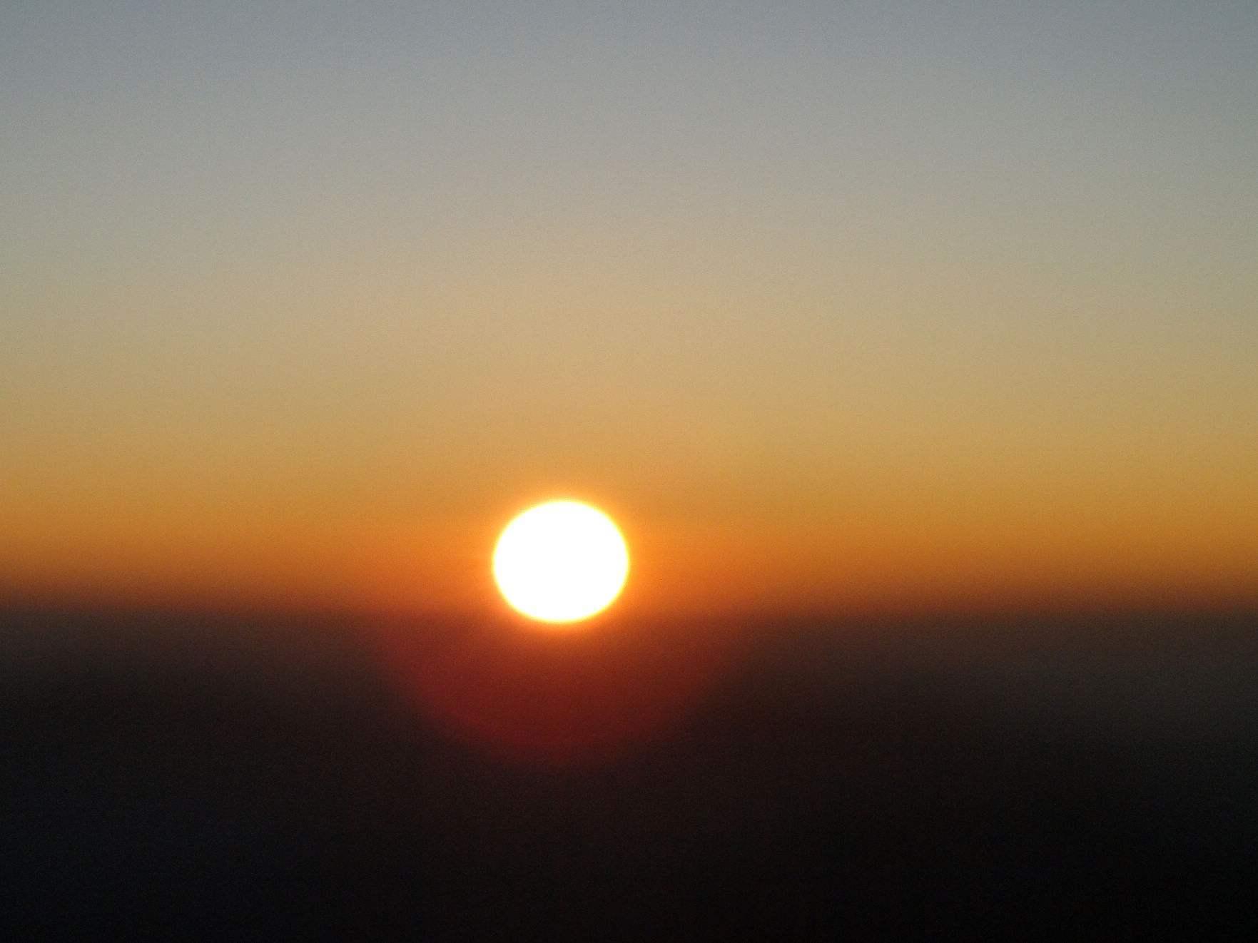 太阳带来的颜色散文