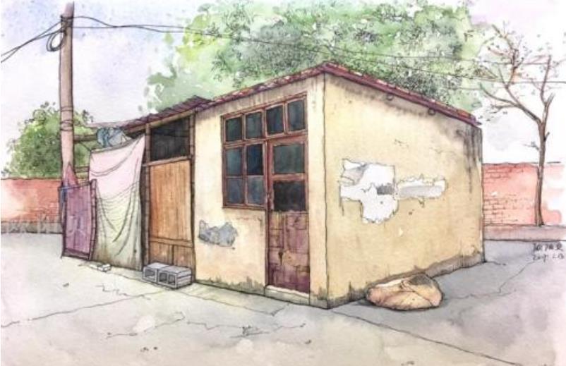 记忆深处的房子抒情散文