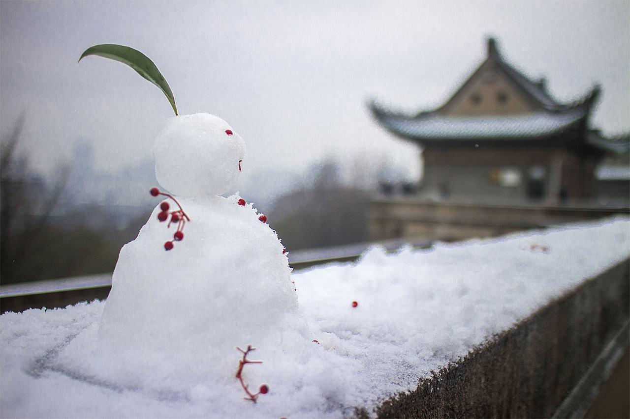 关于今年初雪的散文