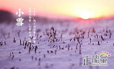 关于小雪节气的古诗词精选16首