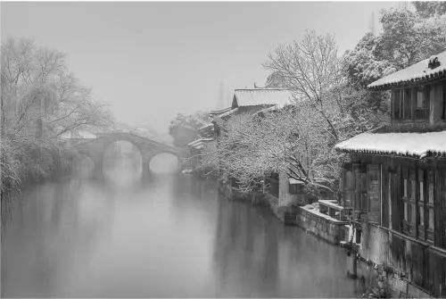 关于江南的冬天抒情散文欣赏