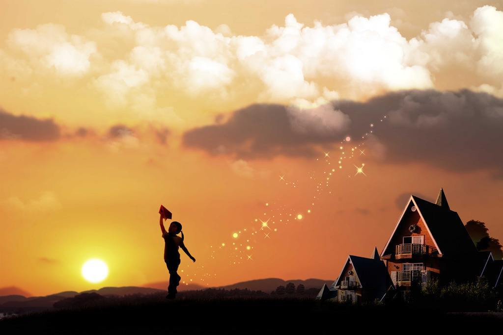 勇敢追梦的正能量心情语录:心中尚存远方,有拂晓的地方