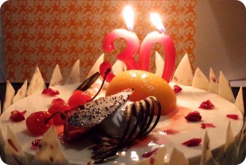 关于生日感动的抒情散文