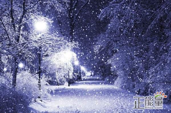 关于雪夜的随笔感悟:大雪节气