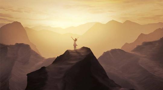 生命中的阻碍是自己想象出来的困难