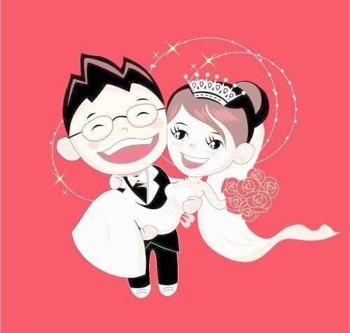 送朋友搞笑的結婚祝福語簡短