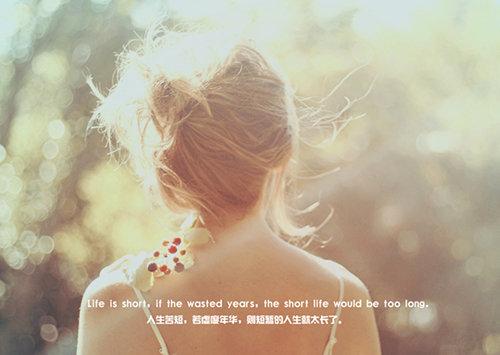 用心,感悟春暖与花开的深情,不语也相知的安暖与相伴