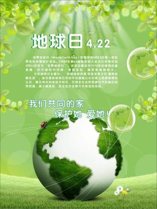 2018世界地球日主题是什么
