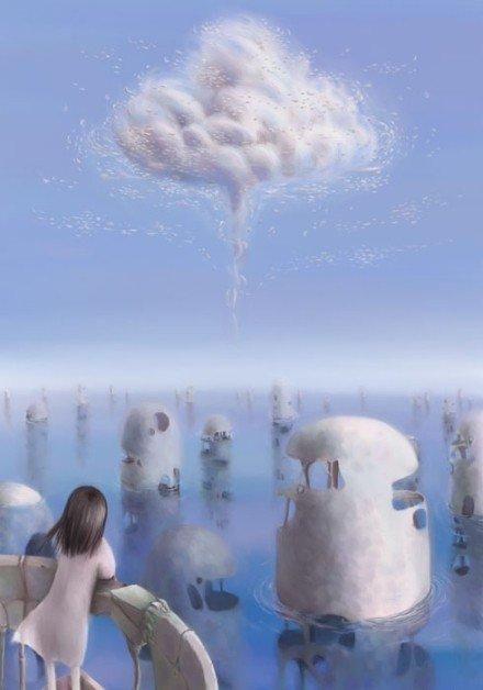 偶尔的寂寞是面对自己,尤其是放空的自己