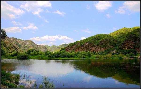 [白河峡谷]白河,遗落在秦楚边城中的世外桃源