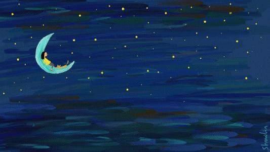 晚安说说致自己一句话|一句话的英文简单晚安说说大全