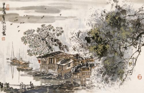 《生查子·春山烟欲收》是一首写于()时期的词作。A、初唐B、五代