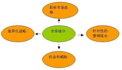 咨询单位的市场部分析市场,请问市场细分的步骤?