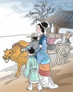 """""""孟母三迁""""的故事至今传为佳话,它是哪种道德教育方法的体现"""