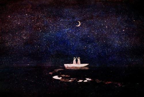 一禅小和尚治愈系视频:你是满船的烟波,你是海底的星河。