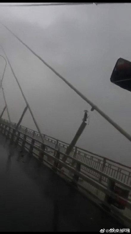 突发!苏通大桥一根斜拉索断裂,暂时封闭实施特级管制