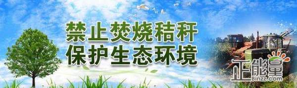 2018最新禁止秸秆焚烧宣传语大全