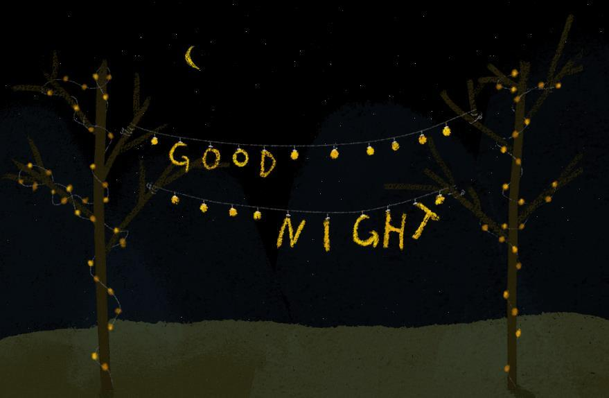 晚安心情说说感悟生活经典语录:努力过好平凡的一生