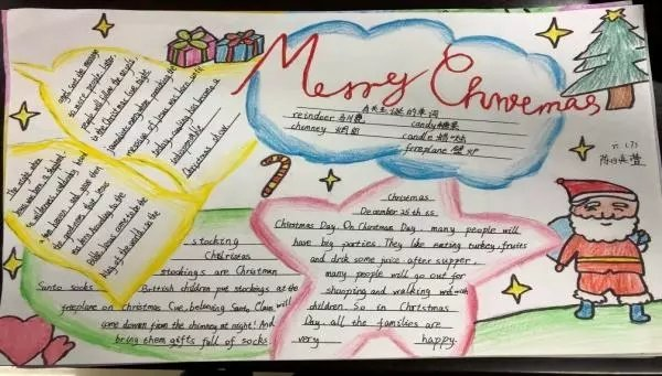 小学六年级英语手抄报漂亮又简单图片大全