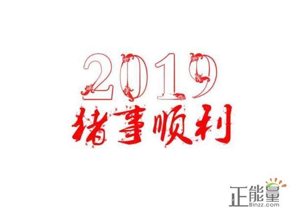 总结2018展望2019经典语句励志说说大全