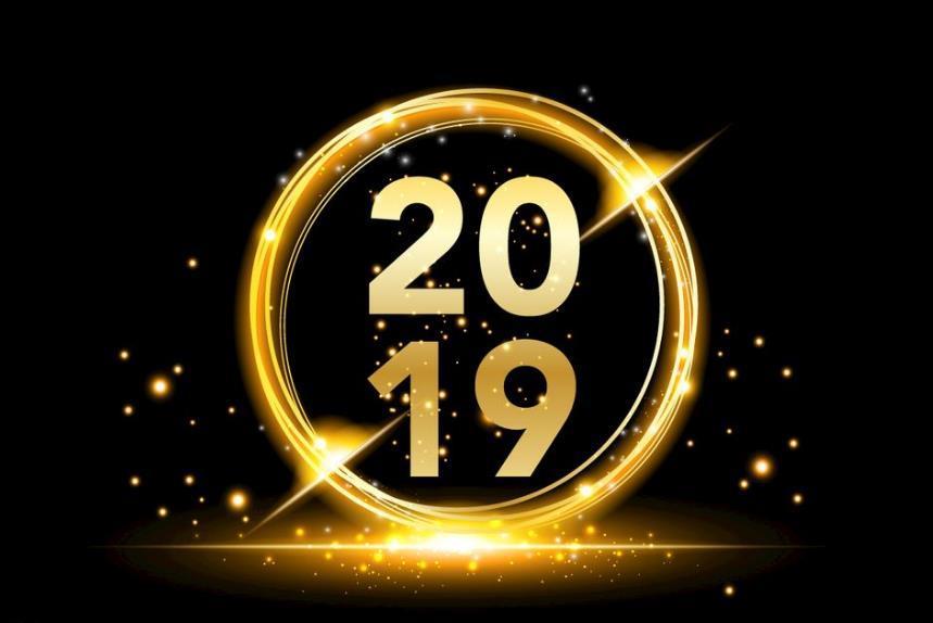 2019新年祝福语英语版最新祝福大全