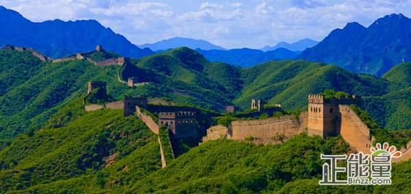 """腾讯认领了从""""鹰飞倒仰""""至""""北京结""""一段的修缮工作,这段长城属于"""