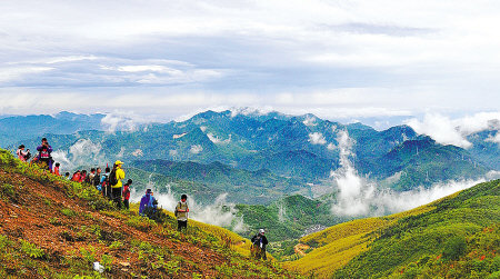 關于登山的樂趣散文欣賞