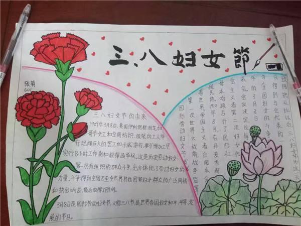 三八国际劳动妇女节手抄报精选图片大全