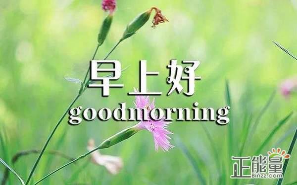 周末早安正能量简单一句话唯美励志心语大全