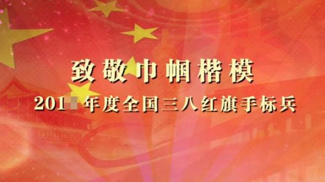 2019年三八红旗手标兵先进事迹材料精选3篇