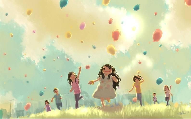 长大回忆童年的唯美句子说说:亲手葬送了青春,把风景变为炼狱